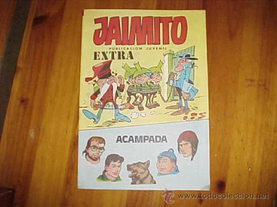 JAIMITO. EXTRA ACAMPADA 1984. EDITORA VALENCIANA * (Tebeos y Comics - Comics Extras)