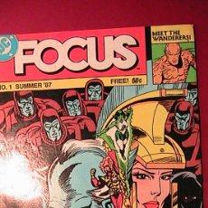 Cómics: COMIC DC FOCUS NUM 1 DEL VERANO DE 1987. Lote 34059172
