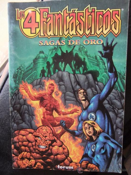 LOS 4 FANTASTICOS SAGAS DE ORO (Tebeos y Comics - Comics Extras)