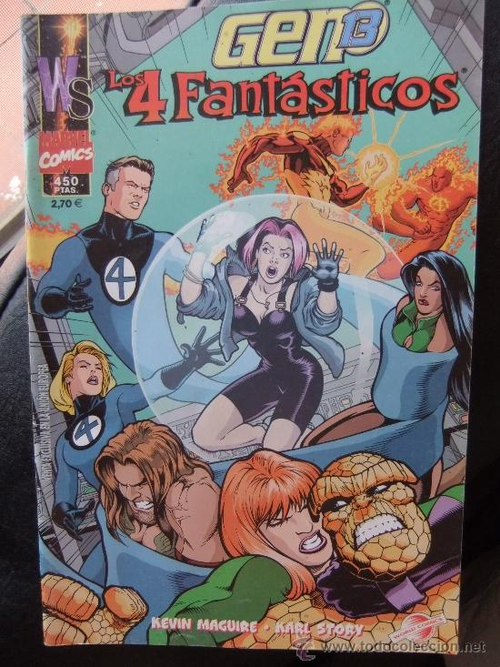 GEN 1º3 & LOS 4 FANTASTICOS (Tebeos y Comics - Comics Extras)
