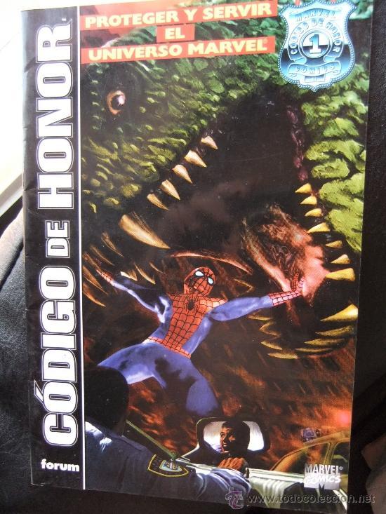 CODIGO DE HONOR (Tebeos y Comics - Comics Extras)