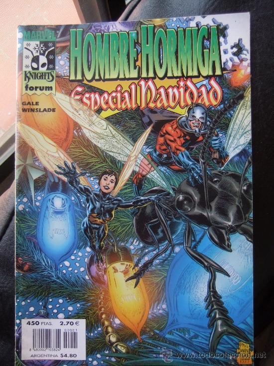 HOMBRE HORMIGA ESPECIAL NAVIDAD (Tebeos y Comics - Comics Extras)