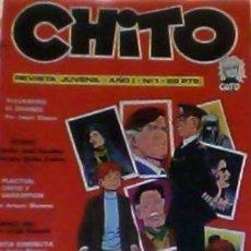Cómics: CHITO REVISTA JUVENIL AÑO I Nº 1 . Lote 34312521