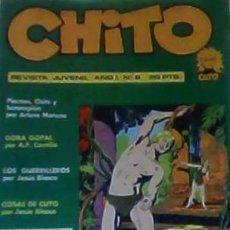 Cómics: CHITO REVISTA JUVENIL AÑO I Nº 8. Lote 34313754