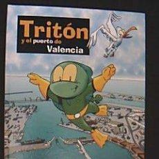 Cómics: TRITÓN Y EL PUERTO DE VALENCIA. AUTORIDAD PORTUARIA DE VALENCIA, 2003. Lote 34940585