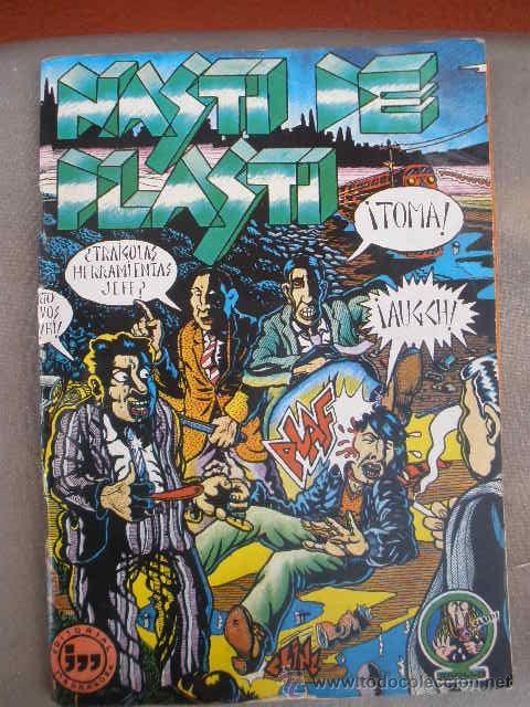 COMIC, NASTI DE PLASTI. EDITORIAL MADRÁGORA 1976. VARIOS AUTORES (MARISCAL, NAZARIO, ETC) (Tebeos y Comics - Comics Extras)