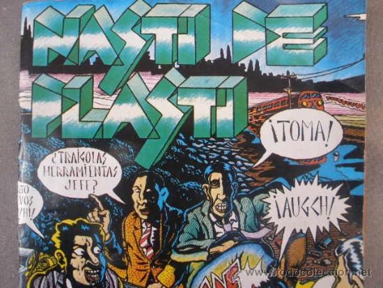 Cómics: COMIC, NASTI DE PLASTI. EDITORIAL MADRÁGORA 1976. VARIOS AUTORES (MARISCAL, NAZARIO, ETC) - Foto 11 - 190727157