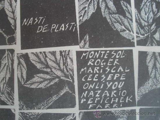 Cómics: COMIC, NASTI DE PLASTI. EDITORIAL MADRÁGORA 1976. VARIOS AUTORES (MARISCAL, NAZARIO, ETC) - Foto 10 - 190727157