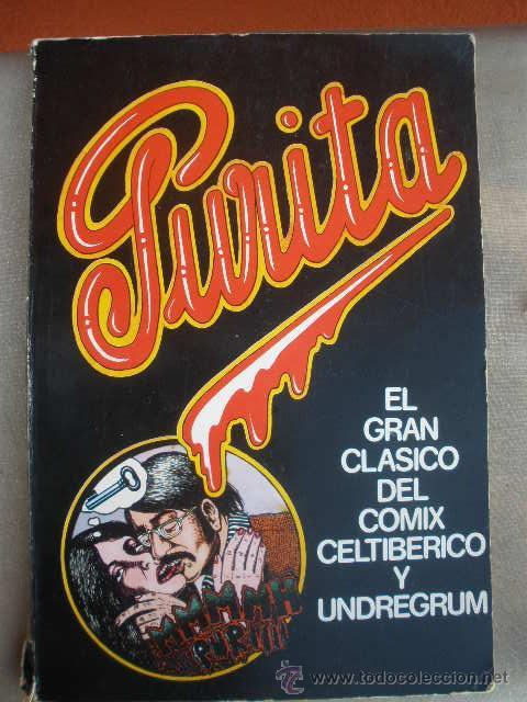 COMIC. PURITA. EDITORIAL MADRÁGORA. BARCELONA 1975. VARIOS AUTORES (BORDILLI, CESSEPE, MARISCAL, ETC (Tebeos y Comics - Comics Extras)