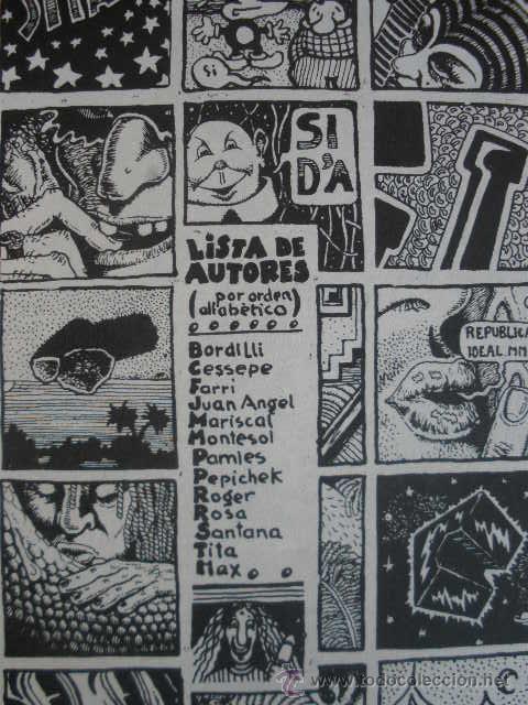 Cómics: COMIC. PURITA. EDITORIAL MADRÁGORA. BARCELONA 1975. VARIOS AUTORES (BORDILLI, CESSEPE, MARISCAL, ETC - Foto 5 - 37060118
