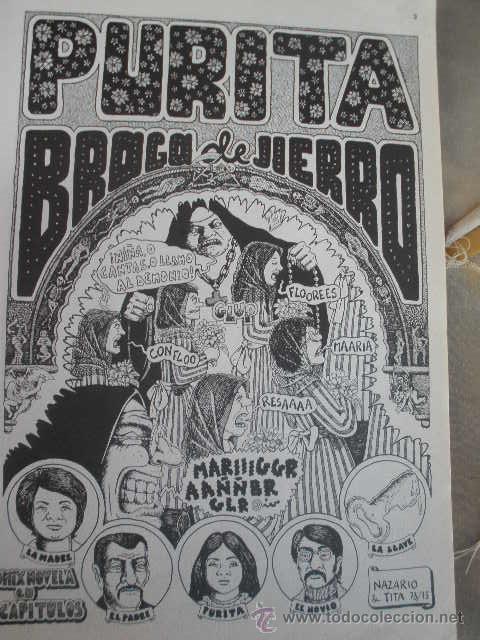 Cómics: COMIC. PURITA. EDITORIAL MADRÁGORA. BARCELONA 1975. VARIOS AUTORES (BORDILLI, CESSEPE, MARISCAL, ETC - Foto 8 - 37060118