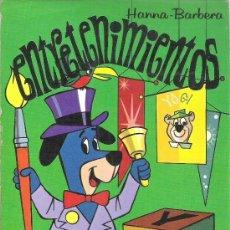 Cómics: 1 LIBRO TIPO COMIC AÑO 1975 - ENTRETENIMIENTOS ( HANNA BARBERA - BLOCK EL CIRCO DE HUCKY ). Lote 100636368