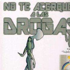 Cómics: NO TE ACERQUES A LAS DROGAS. CARLOS GIMENEZ, ARNO, ETC. 1996. TAPAS DURAS. EDIT. ANTITOX. COMO NUEVO. Lote 39276879