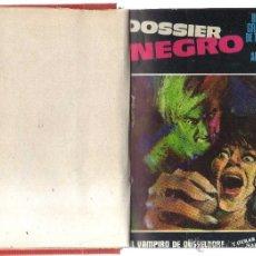 Cómics: DOSSIER NEGRO TOMO CON LOS Nº 1,2,3,8 Y 17 IBERO MUNDIAL DE EDICIONES. Lote 42024671