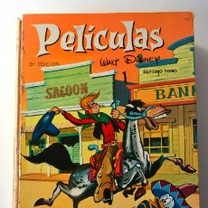Cómics: TOMO DE PELÍCULAS DE DISNEY * COLECCIÓN JOVIAL 3ª EDICIÓN TOMO VII 1968. Lote 46165321