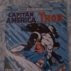 Cómics: MARVEL TWO-IN-ONE CAPITAN AMERICA THOR Nº63 . Lote 47784980
