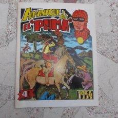 Cómics: FACSIMIL ALMANAQUE DE EL PUMA,1954, CON DIORAMA , EDITORIAL MARCO , 28 PAGINAS 28X21. Lote 48732470