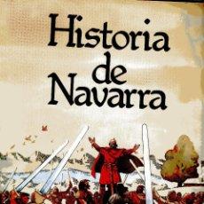 Cómics: COMIC HISTORIA DE NAVARRA. DIBUJOS DE RAFAEL RAMOS. 1980. . Lote 49189305