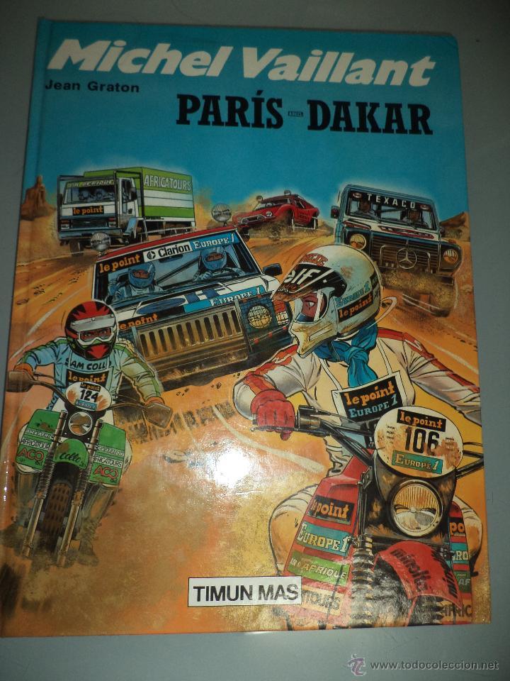 MICHEL VAILLANT.Nº2.PARÍS DAKAR.ED.TIMUN MAS 1991. (Tebeos y Comics - Comics Extras)