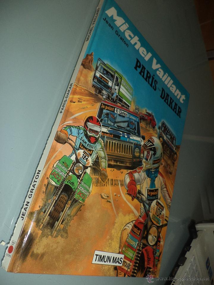 Cómics: Michel Vaillant.nº2.París Dakar.Ed.Timun Mas 1991. - Foto 2 - 50866483