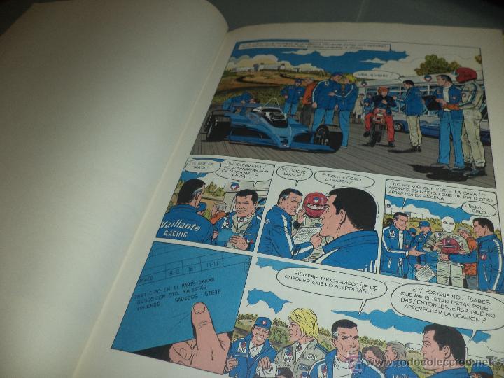 Cómics: Michel Vaillant.nº2.París Dakar.Ed.Timun Mas 1991. - Foto 5 - 50866483