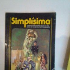Cómics: SIMPLISIMA - AVENTURAS PONOPOLITICAS DE UNA CHICA EN LA ESPAÑA POSTFRANQUISTA -Nº 1 - CJ 24 . Lote 52349819