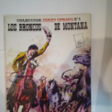 Cómics: LOS BRONCOS DE MONTANA- COLECCION JERRY SPRINGS Nº 1 - EDICIONES RO - CJ 24. Lote 52349846