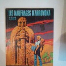 Cómics: LES NAUFRAGES DÀRROYOKA - AUCLAIR Y GREG - EDITORIAL DARGAUD - BUEN ESTADO - CJ 24 . Lote 52352821