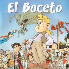 Cómics: EL BOCETO.PACO NÁJERA Y JOAN PIERAS.ESPECIAL.. Lote 138551617