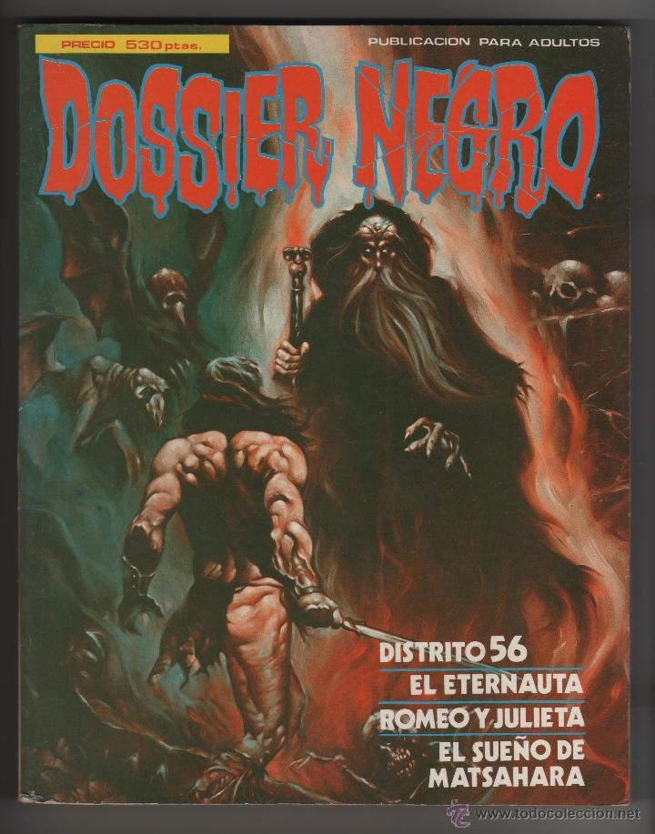 DOSSIER NEGRO EXTRA Nº5. (Tebeos y Comics - Comics Extras)