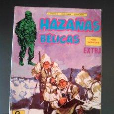 Cómics: HAZAÑAS BÉLICAS -TOMO EXTRA RETAPADO CON 3 AVENTURAS - VER DESCRIPCIÓN. Lote 54522451