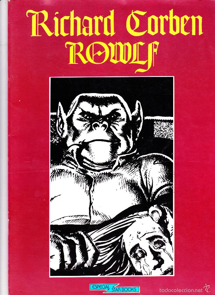 Cómics: RICHARD CORBEN. ROWLF. ESPECIAL STAR BOOKS - Foto 1 - 57395022