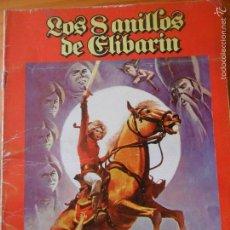Cómics: LOS 8 ANILLOS DE ELIBARIN - NUMERO UNICO TOMO RUSTICA 50 PGNAS.- SEGURA/ BERMEJO - 1981 ED. VAZQUEZ. Lote 58264569