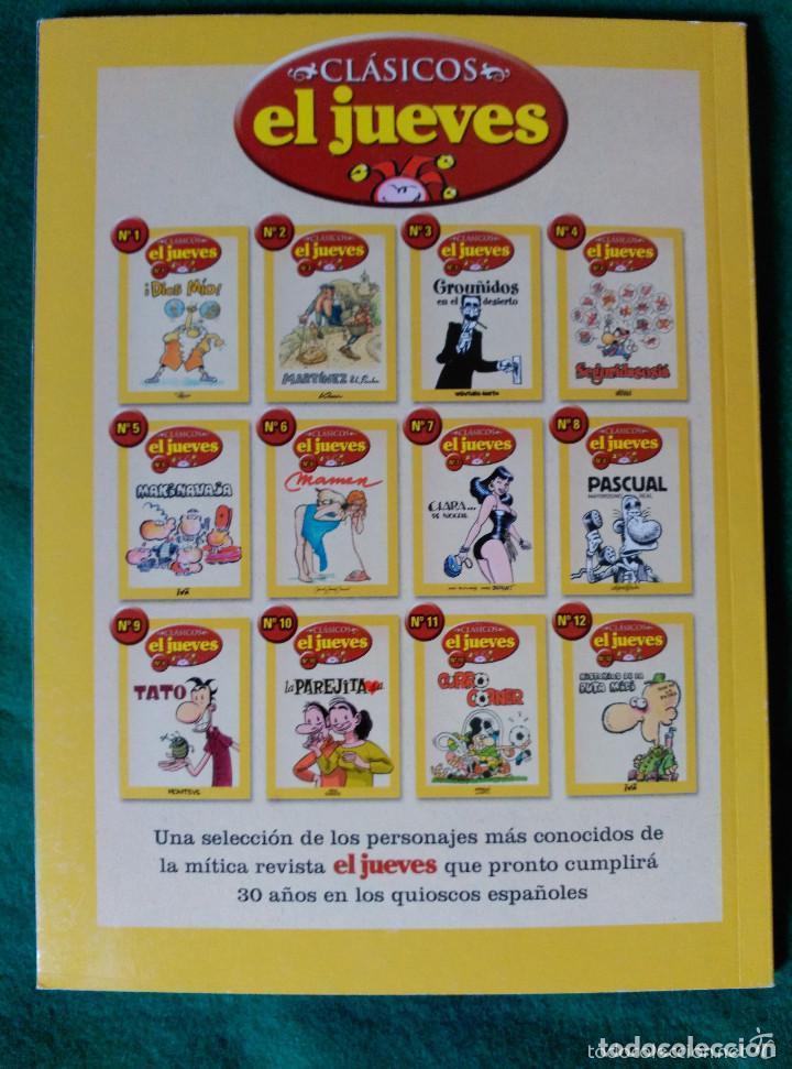 Cómics: CLASICOS EL JUEVES Nº 10 - LA PAREJITA, S.A. - Foto 2 - 73032039