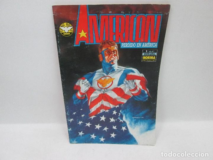 AMERICAN PERDIDO EN AMÉRICA SERIE COMPLETA - NORMA EDITORIAL 1992 (Tebeos y Comics - Comics Extras)