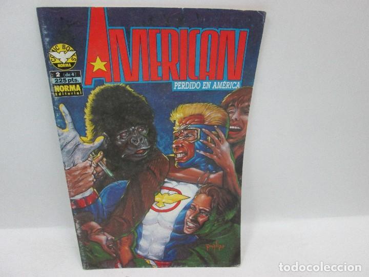 Cómics: AMERICAN PERDIDO EN AMÉRICA SERIE COMPLETA - NORMA EDITORIAL 1992 - Foto 2 - 94721579