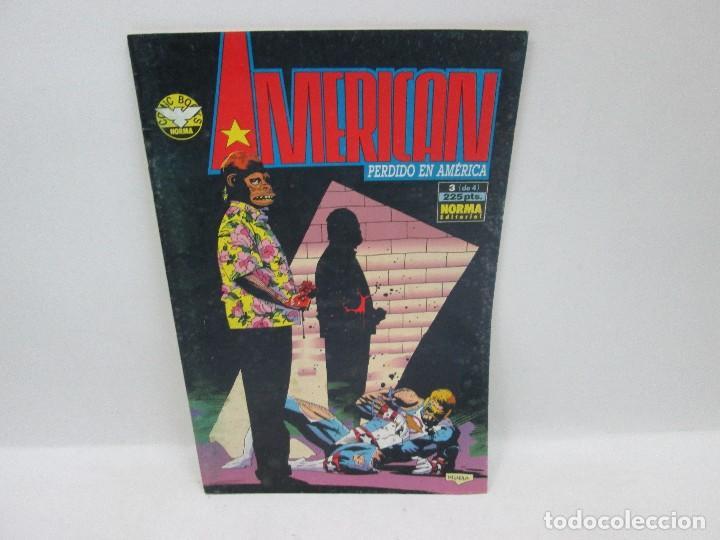 Cómics: AMERICAN PERDIDO EN AMÉRICA SERIE COMPLETA - NORMA EDITORIAL 1992 - Foto 3 - 94721579