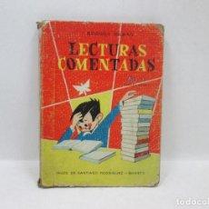 Cómics: LECTURAS COMENTADAS VOL. 1 TERCER CURSO - BEGOÑA BILBAO BURGOS 1966. Lote 94779999