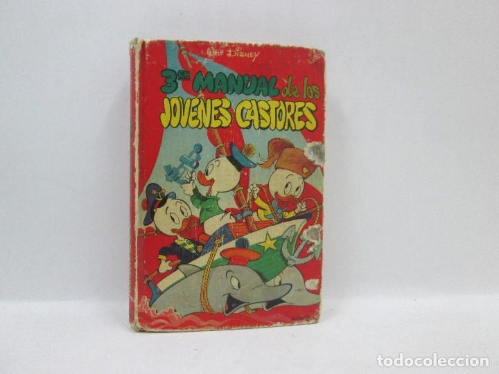 3ER MANUAL DE LOS JOVENES CASTORES - WALT DISNEY, EDICIONES MONTENA 1978 (Tebeos y Comics - Comics Extras)