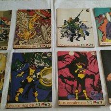 Cómics: 16 NÚMEROS DE LOS COMICS DEL SOL. Lote 96078846