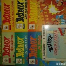 Cómics: LOTE 9 COMICS ASTERIX INGLES. Lote 107747411
