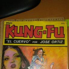 Cómics: CÓMIC KING FU EL CUERVO POR JOSÉ ORTIZ. Lote 110636826