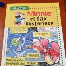Cómics: CÓMICS MINNIE MAYO 1998 .EL FAX MISTERIOSO.. Lote 116868254