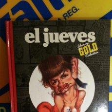 Cómics: EL JUEVES GOLD HOLLYWOOD Y OTRAS HIERVAS - VIZCARRA - COMO NUEVO. Lote 119546283