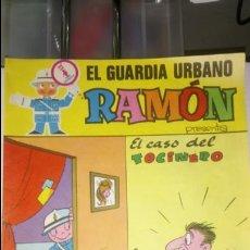Comics : TBO EL GUARDIA URBANO RAMÓN. PUBLICIDAD DE PRENDAS SUBIRÁ.. Lote 121939940
