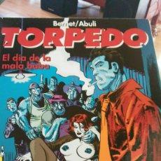 Cómics: TORPEDO EL DÍA DE LA MALA BABA EDITORIAL GLENAT DE BERNET/ ABULI TAPA DURA. Lote 129074132