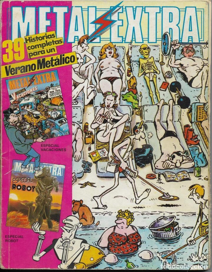 CÓMIC METAL HURLANT ESPECIAL VERANO (Tebeos y Comics - Comics Extras)
