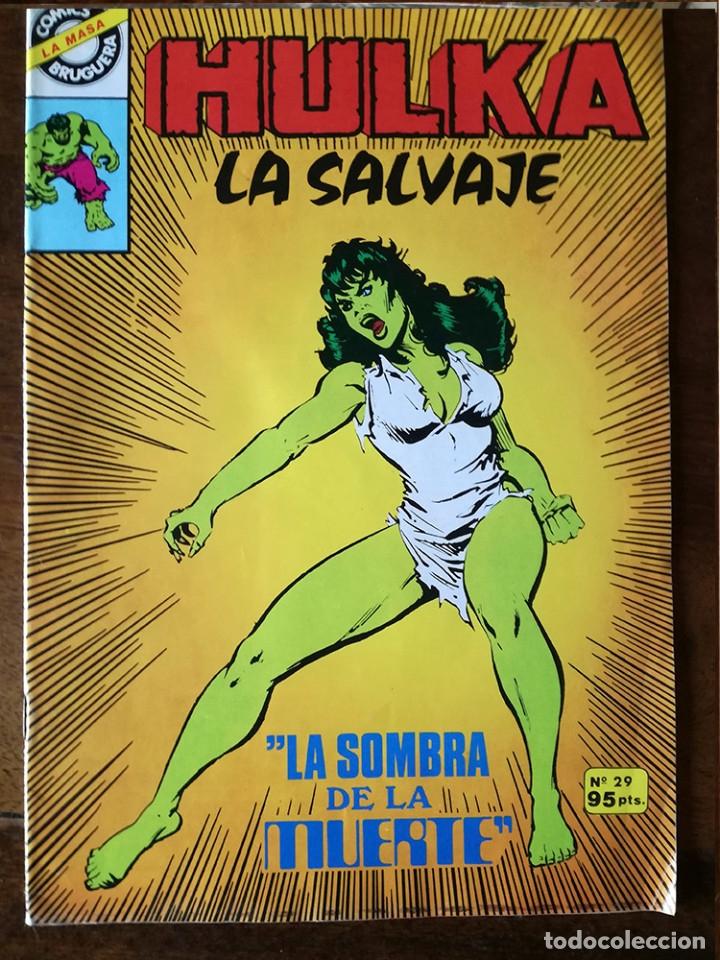 Cómics: 2 Hulka La Salvaje Nº 24-29 comic Bruguera y Marvel Comics Group NUEVO 1982 - Foto 2 - 25666558