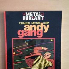 Cómics: COMIC METAL HURLANT SERIE NEGRA - ANDY GANG -. Lote 142703866