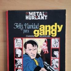 Cómics: COMIC METAL HURLANT SERIE NEGRA - FELIZ NAVIDAD PARA ANDY GANG -. Lote 142704942